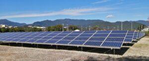 上野原サイト 太陽光発電所
